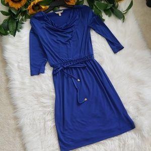 Banana Republic Cowl-neck Midi Dress